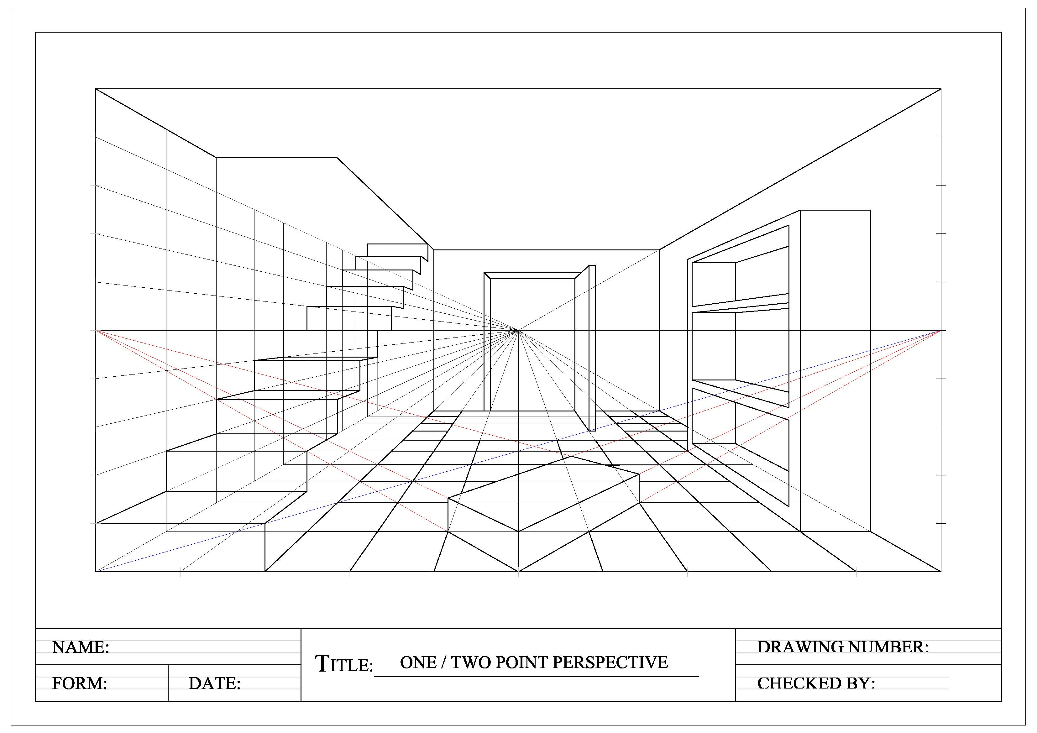 Perspective Drawings 171 Graphical Communication