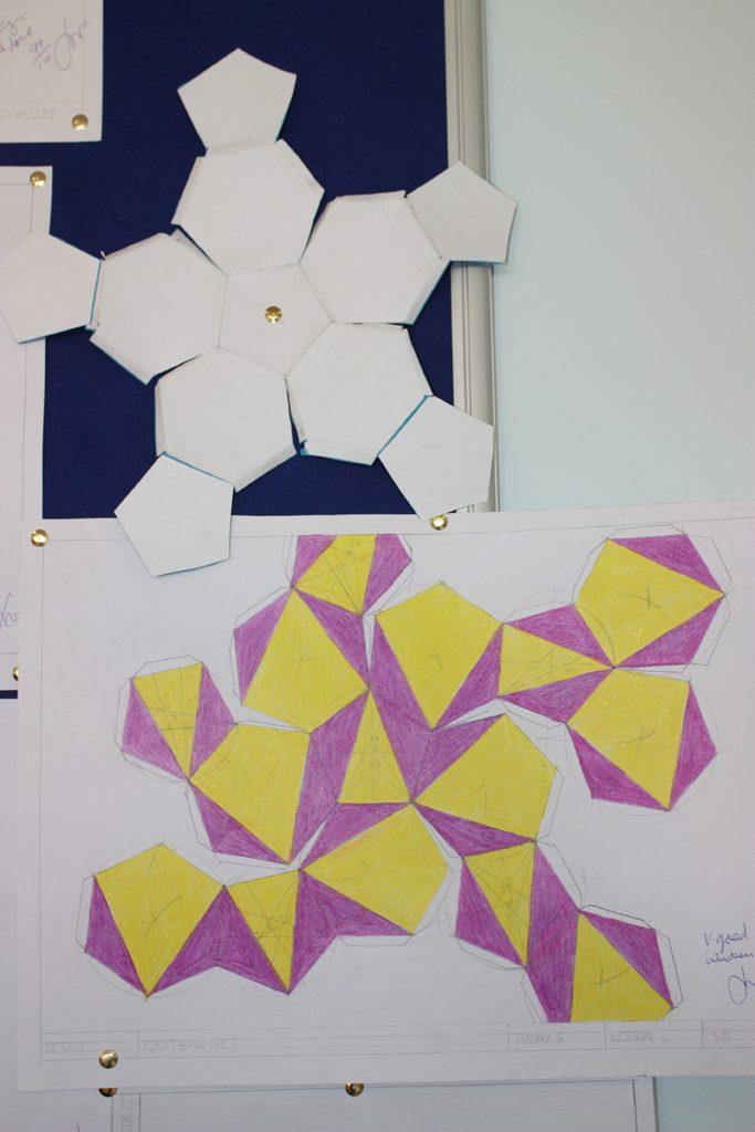 kexagons and pentagon development